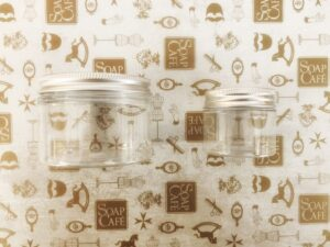 Transparent Jars with Lids